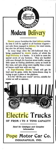 1905 Waverley Electric delivery