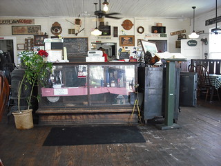 whistle stop cafe - interior
