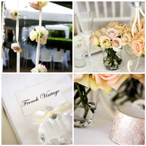 French Vintage Wedding
