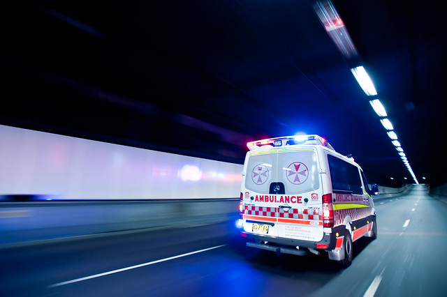 Ambulance NSW by alexkess, Creative Commons/flickr