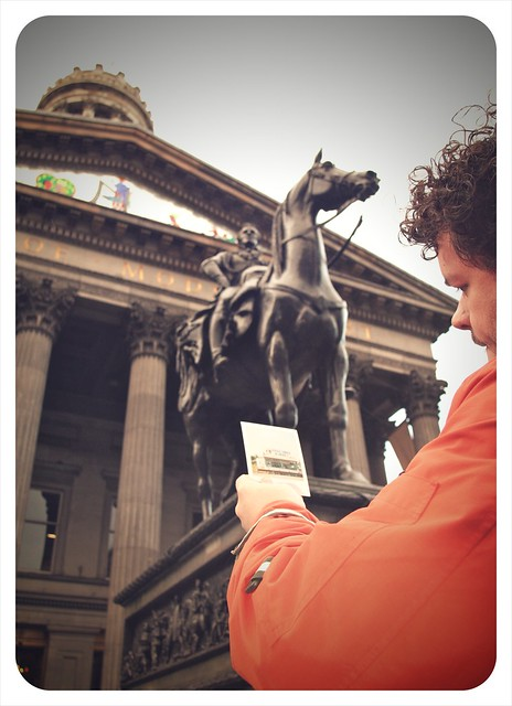 Welcome to Glasgow, Jeff (329/365)