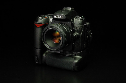 My Nikon D90+Grip+Nikkor 50mm F1.8