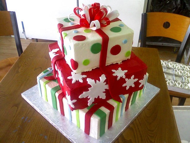 Christmas Cake Decoration Present : christmas cakes - a gallery on Flickr