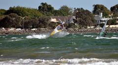 rapid(0.0), kayak(0.0), boating(0.0), canoe slalom(0.0), kayaking(0.0), canoeing(0.0), paddle(0.0), sailing(1.0), vehicle(1.0), sports(1.0), wind(1.0), water sport(1.0), watercraft(1.0), windsurfing(1.0), boat(1.0),