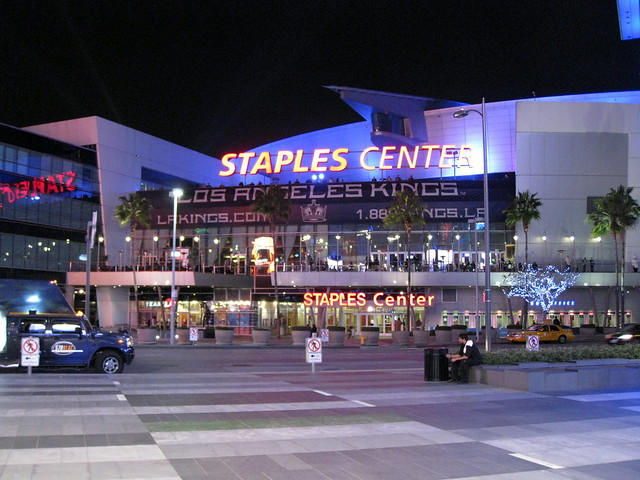 The Staples Center, Los Angeles