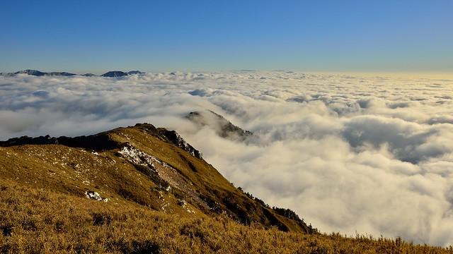 合歡山主峰~雲浪~  Cloud wave