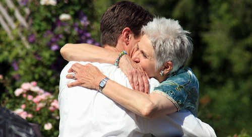 Mother's embrace