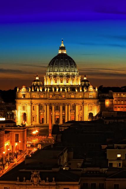 San Pietro ieri sera