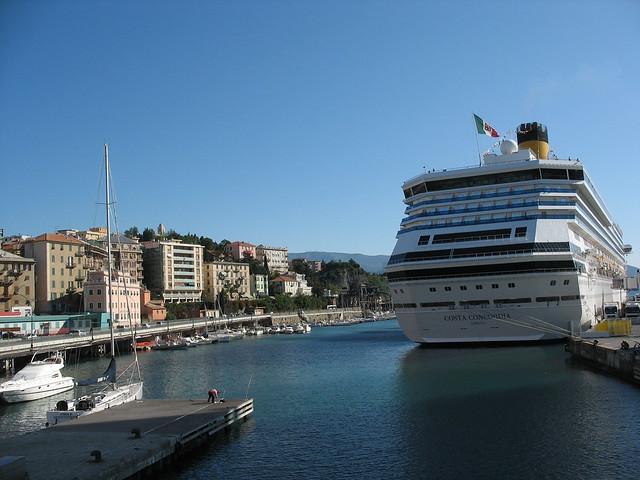 Our ship, the Costa Concordia