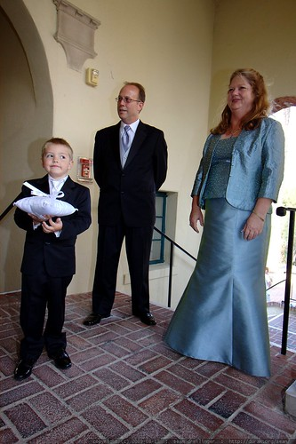ring bearer getting ready    MG 2338