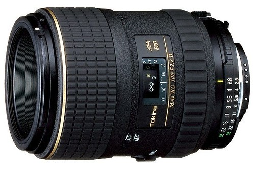 Tokina 100mm f/2.8 Macro Lens for Canon