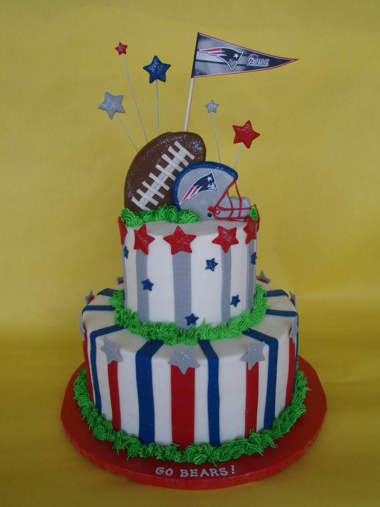 New England Patriots Cake A Photo On Flickriver