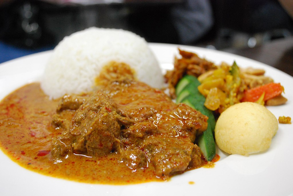 Nasi Lemak with Beef Curry - Laksa King AUD8.80