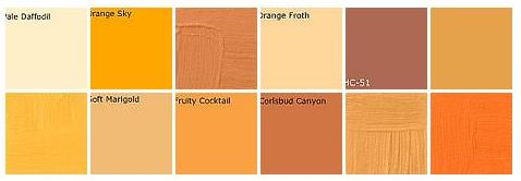 orange paint: designers' favorite colors - a photo on flickriver