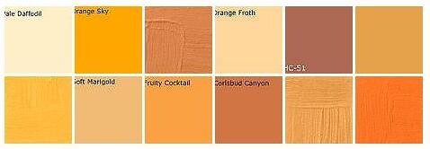 Orange Paint Designers 39 Favorite Colors A Photo On