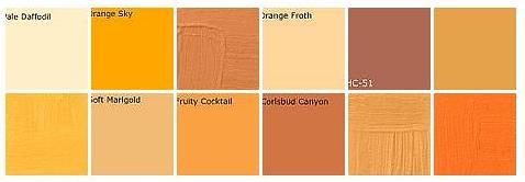 Pale Orange Paint Fascinating Of Benjamin Moore Orange Paint Colors Images