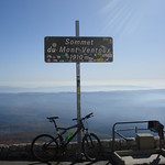 The summit of Mount Ventoux