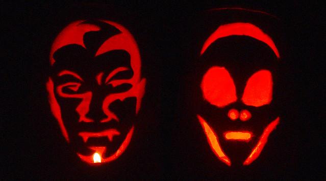 Calabazas para halloween iluminadas flickr photo sharing - Disenos de calabazas de halloween ...
