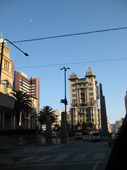 Early morning, Rissik Street