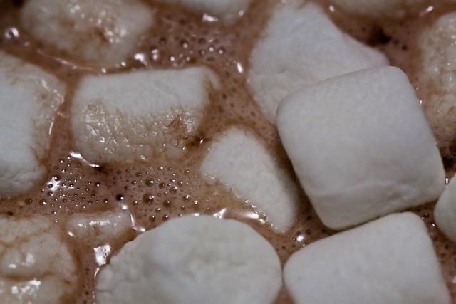 hot chocolate + marshmallows | Flickr - Photo Sharing!