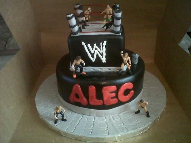 Wwe Birthday Cakes Glasgow