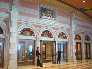 ベネチアン・マカオ リゾートホテル 正面入口