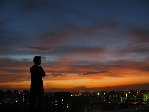 sunset silhouette canon powershot sooc sx110