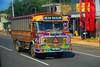Sri-Lanka camion multicolore / Sri Lanka multicolored truck