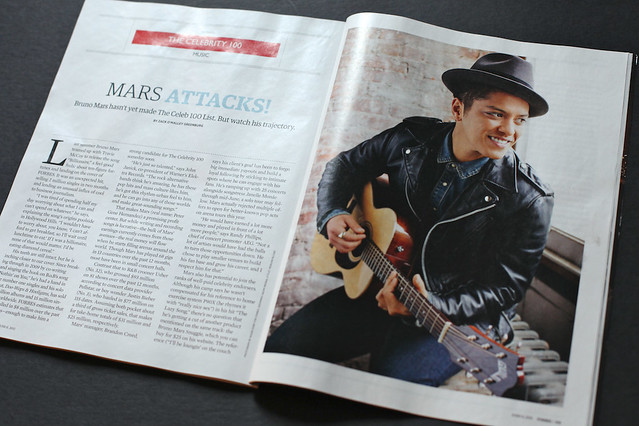 Bruno Mars - Forbes