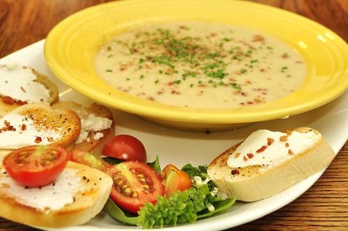 Mmm...potato leek soup
