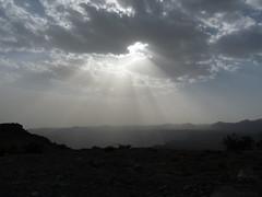Sunrays at Jabal Akhdar