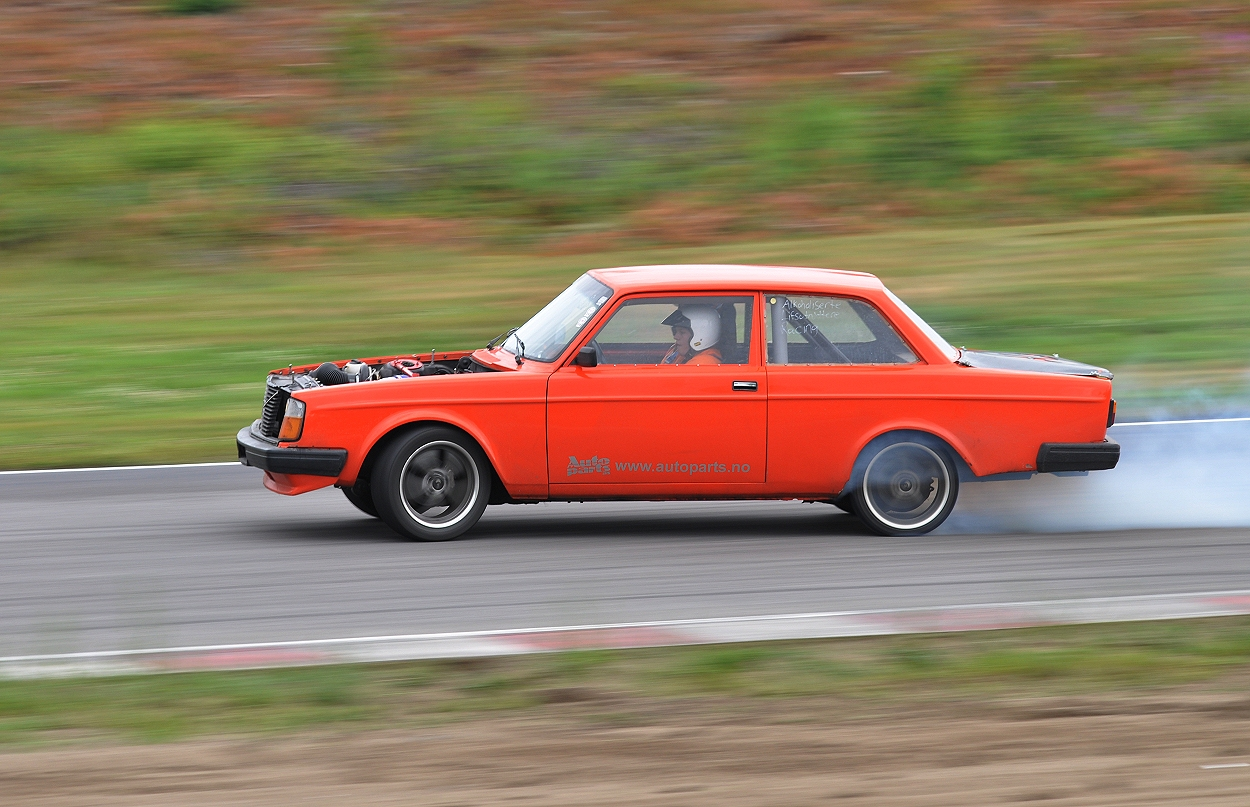 Drift volvo 240