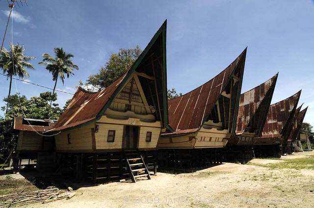 Rumah Adat, pulau samosir Sumatera Utara