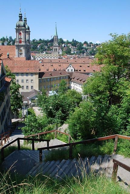Steps in St. Gallen
