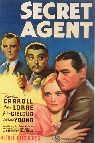 """Secret Agent"", 1936"
