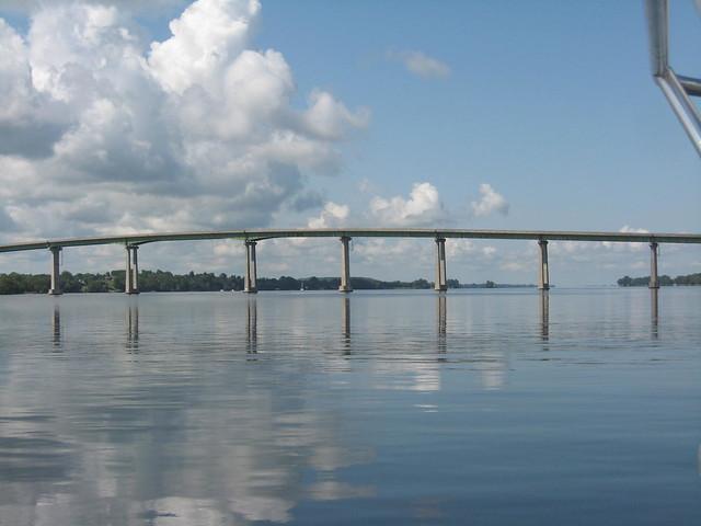 Skyway bridge highway 49 ontario a gallery on flickr for Skyway bridge fishing report