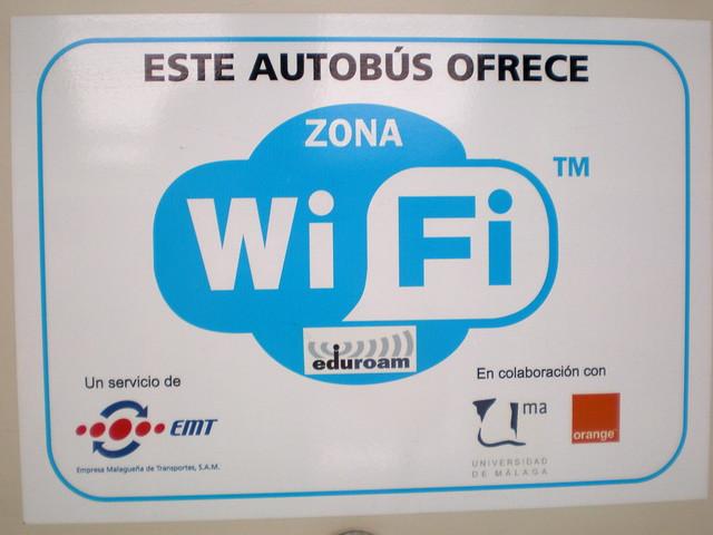 Bus wifi m laga flickr photo sharing for Oficina emt malaga