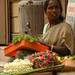 Madurai, India: Temple Flower Vendor