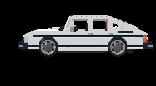 Saab 900 by LEGO