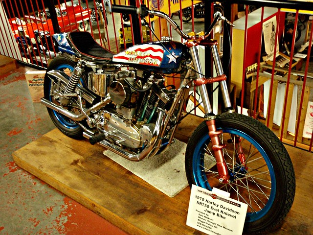 Evel Knievel S 1976 Harley Davidson Xl1000 Motorcycle: Krazy For Knievel :: Flickr Dive