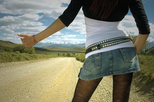 hitchhiking patagonia