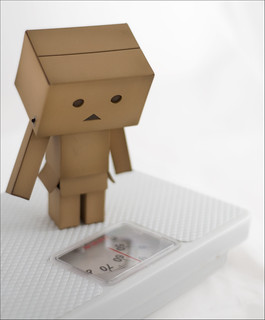For Danbo, the New Year started with a shock!