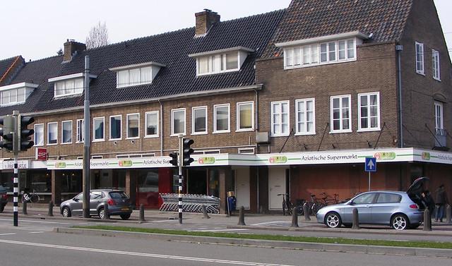 Grote Aziatische supermarkt Oriental in Arnhem