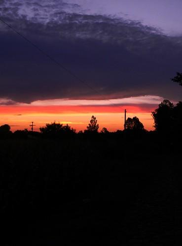 sunset sky cores céu foz