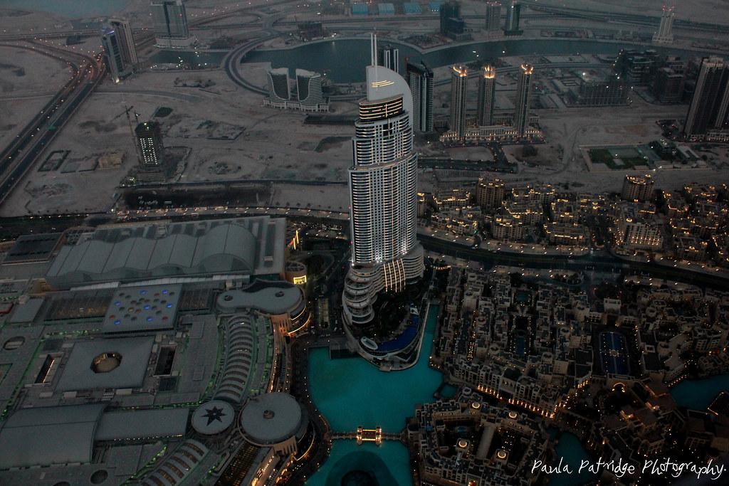 Burj Dubai Top Floor View