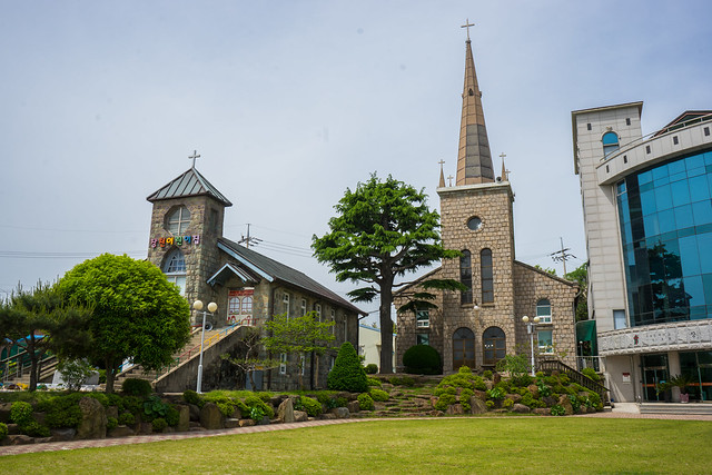 Jangcheon Church, Yeosu, South Korea