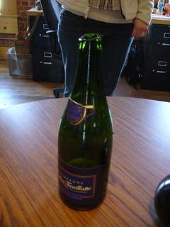 Champagne Opening