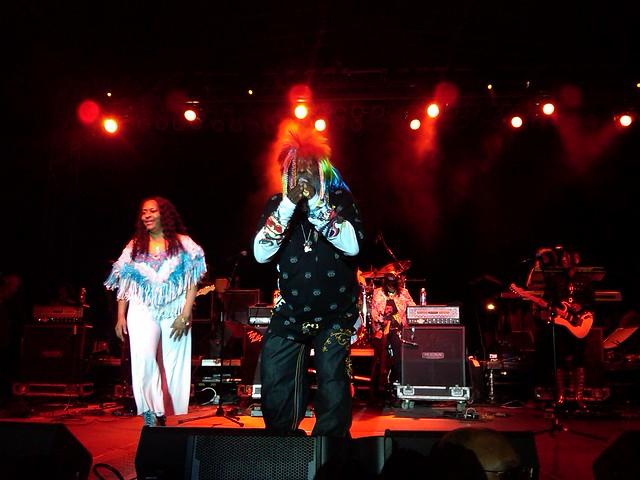 George Clinton Parliament Funkadelic Tour