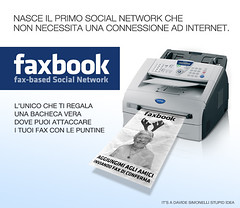faxbook - no internet connection needed