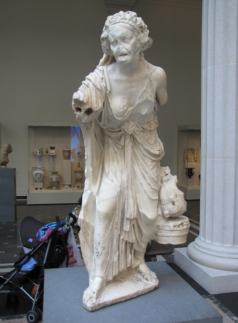 Marble Statue of an Old Market Woman | Flickr - Photo Sharing! Old Market Woman